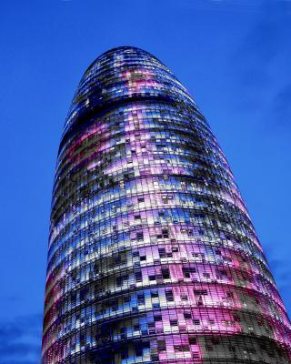 Torre Agbar in Barcelona - Obrázkek zdarma pro Nokia X1-00