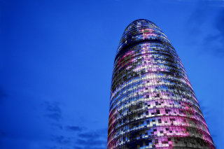 Torre Agbar in Barcelona Wallpaper for Android, iPhone and iPad