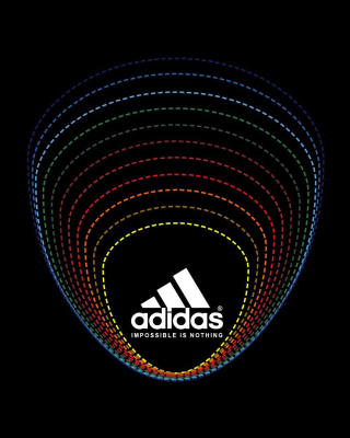 Adidas Tagline, Impossible is Nothing - Obrázkek zdarma pro iPhone 6
