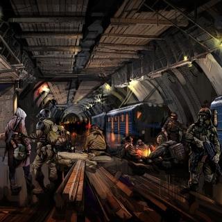Metro 2034 Novel - Obrázkek zdarma pro 2048x2048
