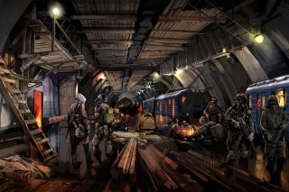 Metro 2034 Novel Wallpaper for Android, iPhone and iPad