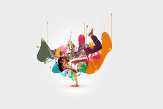 Breakdance Drips - Obrázkek zdarma pro Sony Xperia C3