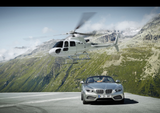 Free 2012 Bmw Zagato Roadster Front Static Picture for Android, iPhone and iPad