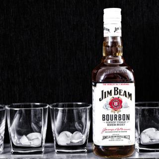 Jim Beam, Bourbon - Obrázkek zdarma pro 208x208