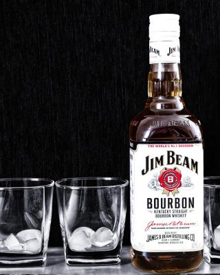 Jim Beam, Bourbon - Obrázkek zdarma pro 240x432