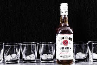 Jim Beam, Bourbon - Obrázkek zdarma pro 1400x1050