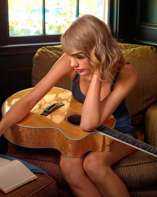 Taylor Swift - Obrázkek zdarma pro Nokia Asha 202