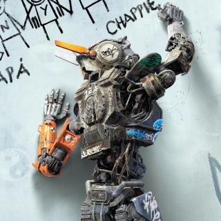 Chappie Robot Movie - Obrázkek zdarma pro 320x320