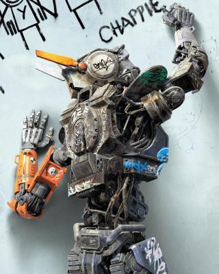 Chappie Robot Movie - Obrázkek zdarma pro 480x640