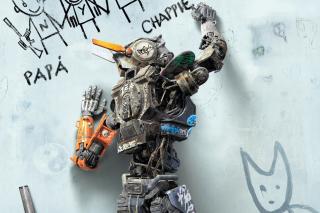 Chappie Robot Movie - Obrázkek zdarma pro HTC Desire HD