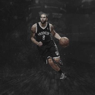 Brooklyn Nets, Deron Williams - Obrázkek zdarma pro iPad