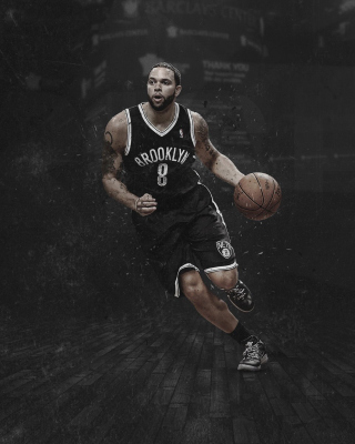 Brooklyn Nets, Deron Williams - Obrázkek zdarma pro iPhone 6 Plus
