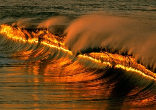Lovely Waves Picture for Android, iPhone and iPad