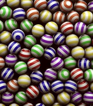 Spheres - Obrázkek zdarma pro Nokia Asha 306