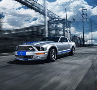 Ford Mustang - Obrázkek zdarma pro iPad mini 2