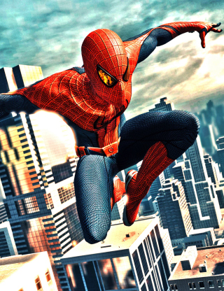 Amazing Spider Man - Obrázkek zdarma pro Nokia Asha 305