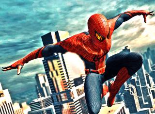 Amazing Spider Man - Obrázkek zdarma pro Motorola DROID