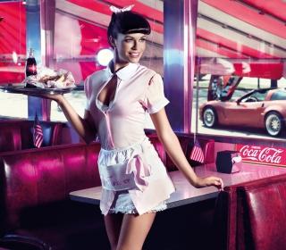 American Waitress - Obrázkek zdarma pro 128x128