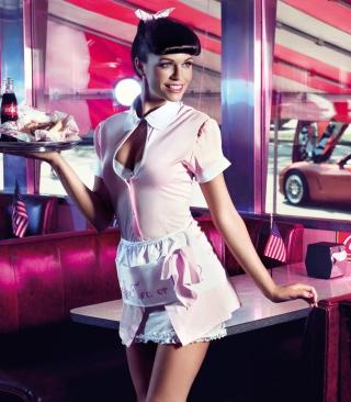 American Waitress - Obrázkek zdarma pro 320x480