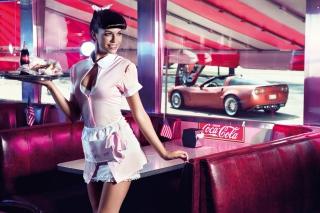 American Waitress - Obrázkek zdarma pro Nokia Asha 205