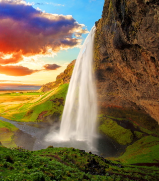 Iceland - Obrázkek zdarma pro Nokia X1-00