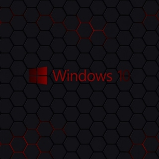 Windows 10 Dark Wallpaper - Obrázkek zdarma pro iPad Air
