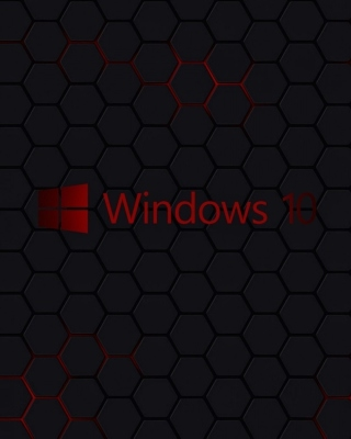 Windows 10 Dark Wallpaper - Obrázkek zdarma pro iPhone 5S