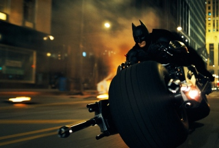 Free Batman In Dark Knight Rises Picture for Android, iPhone and iPad