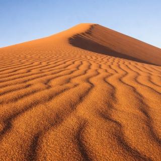 Dune in desert - Obrázkek zdarma pro 208x208