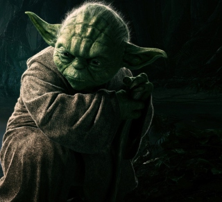 Yoda - Obrázkek zdarma pro iPad mini