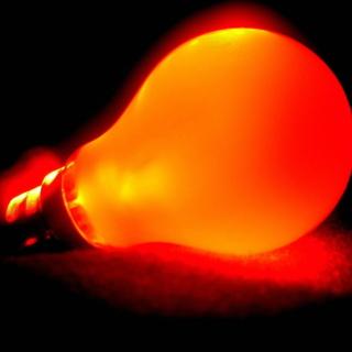 Orange Lamp - Obrázkek zdarma pro 208x208
