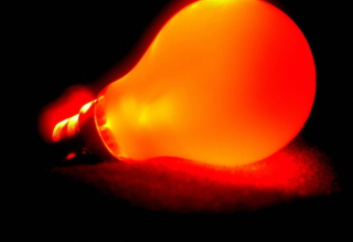 Orange Lamp - Obrázkek zdarma pro Android 600x1024