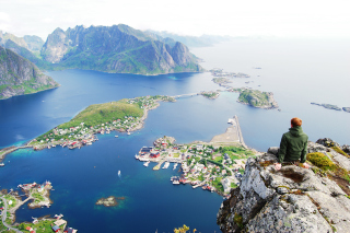 Norway Lofoten Islands Picture for Android, iPhone and iPad
