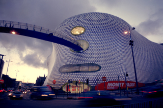 Shopping in Birmingham Background for Android, iPhone and iPad