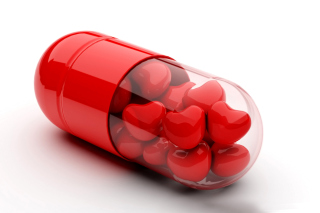 Free Juicy Heart Pills Picture for Nokia Asha 200