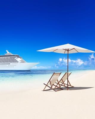 Tropical White Beach - Obrázkek zdarma pro Nokia Asha 310