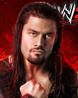 WWE 2K15 Roman Reigns - Obrázkek zdarma pro Nokia 206 Asha