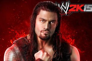 WWE 2K15 Roman Reigns - Obrázkek zdarma pro Nokia Asha 205