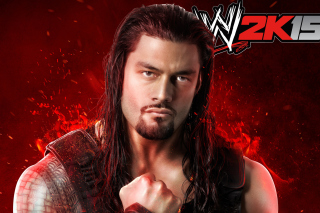 WWE 2K15 Roman Reigns - Obrázkek zdarma pro Fullscreen Desktop 1400x1050