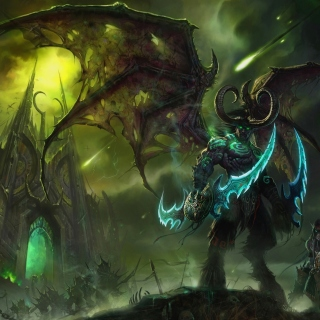 Lord of Outland Warcraft III - Obrázkek zdarma pro 320x320