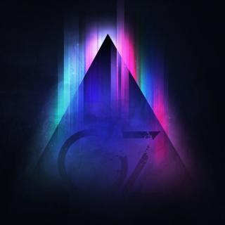Colorful Triangle Vector - Obrázkek zdarma pro 1024x1024