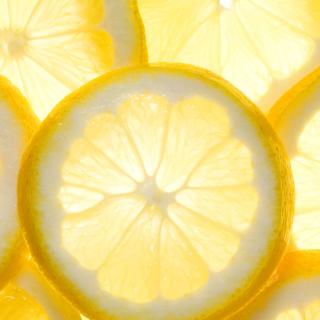 Lemon Slice - Obrázkek zdarma pro iPad Air
