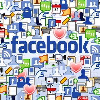 Facebook Wide - Obrázkek zdarma pro 208x208