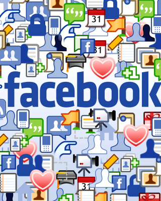 Facebook Wide - Obrázkek zdarma pro 352x416