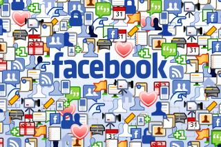 Facebook Wide - Obrázkek zdarma pro Samsung Galaxy Tab 2 10.1