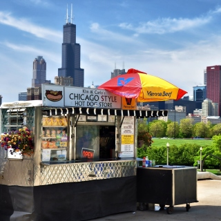 Chicago HD - Obrázkek zdarma pro 208x208