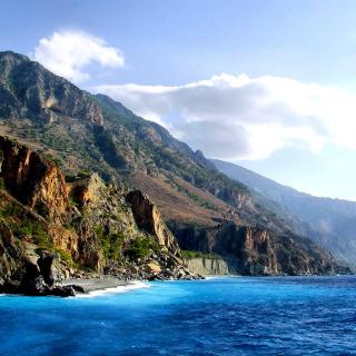Crete Island Rock - Obrázkek zdarma pro 128x128