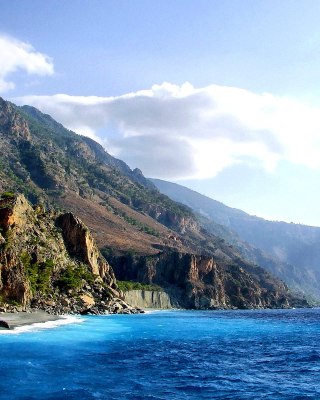Crete Island Rock - Obrázkek zdarma pro 128x160