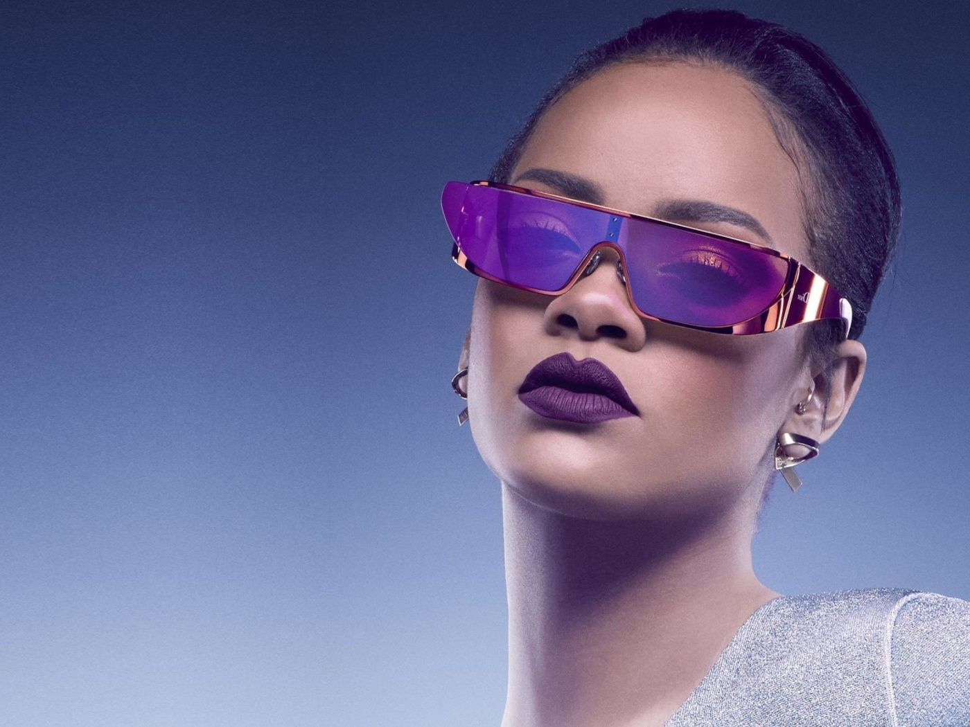 Screenshot №1 pro téma Rihanna in Dior Sunglasses 1400x1050