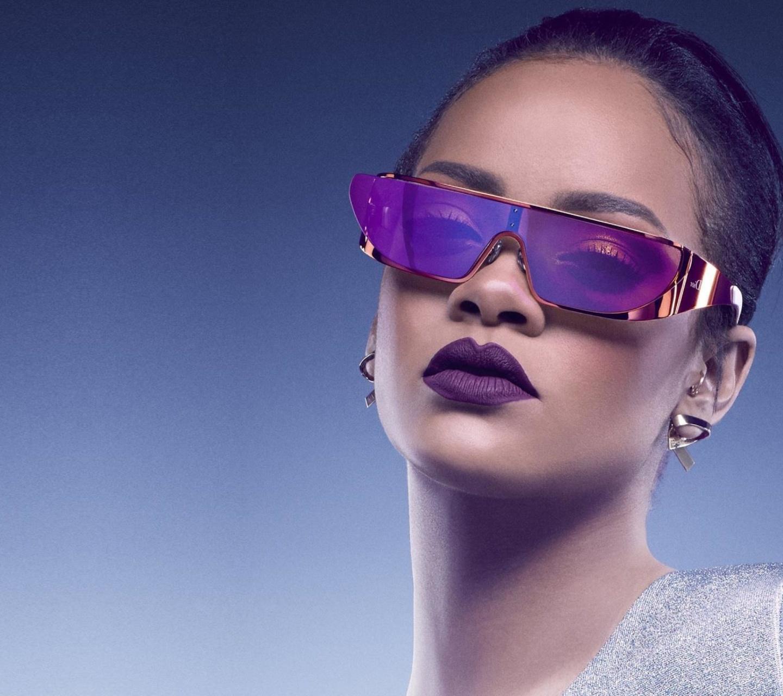 Screenshot №1 pro téma Rihanna in Dior Sunglasses 1440x1280